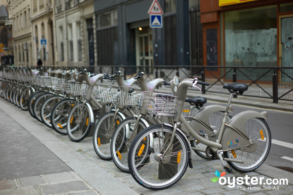 Paris Bike Share, 1. Arrondissement