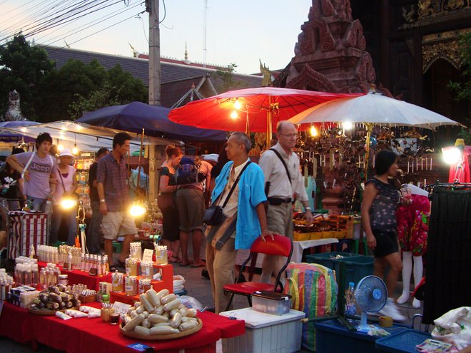 Saturday Market in Chiang Mai; Cait Stewart/Flickr
