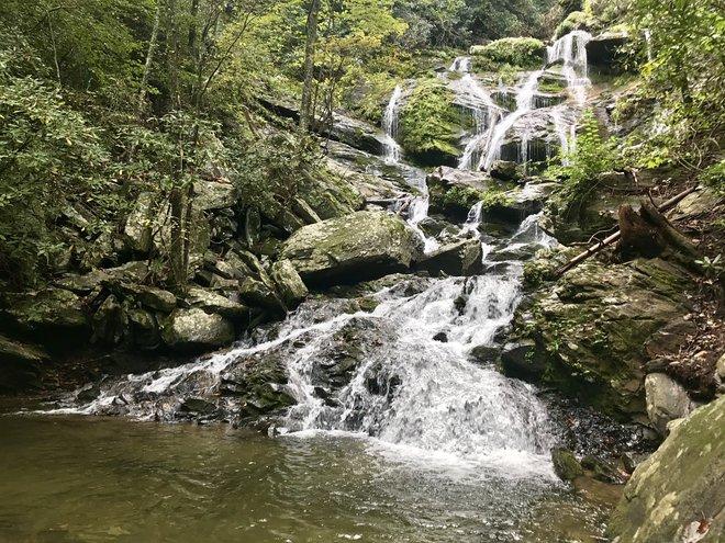 Catawba Falls; Lara Grant