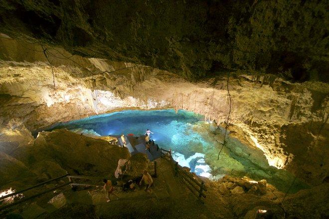 Chimuch Cenote Near Coba; Lara Grant