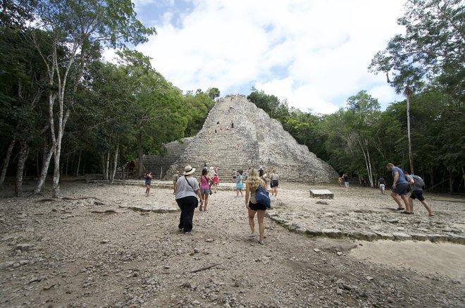 Coba Ruins; Lara Grant