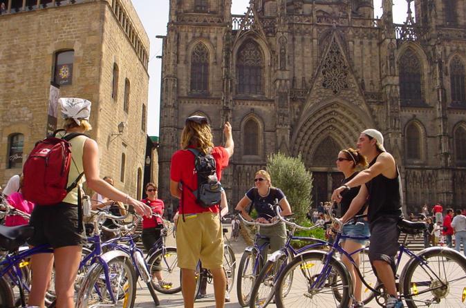 Barcelona Half-Day Bike Tour/Viator