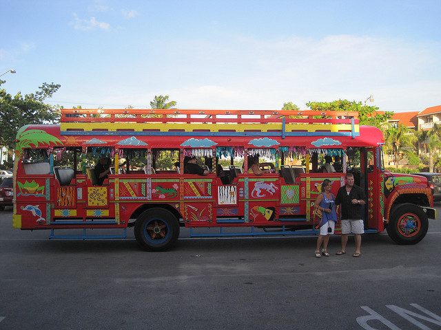 Kukoo Kanuku Party Bus; Peter Galvin/Flickr