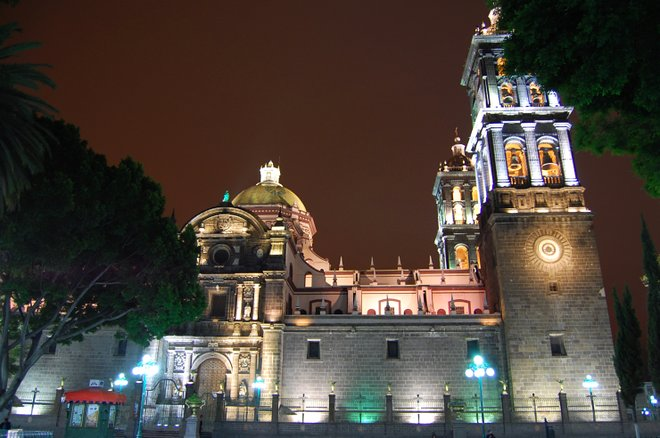 Puebla-Kathedrale; Russ Bowling / Flickr