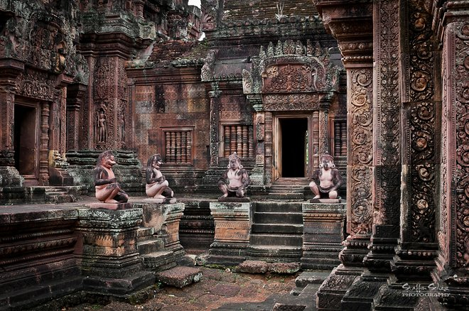 Le temple Banteay Srei; Staffan Scherz / Flickr