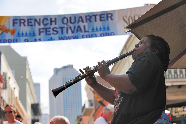 French Quarter Festival, New Orleans; Aris Vrakas/Flickr