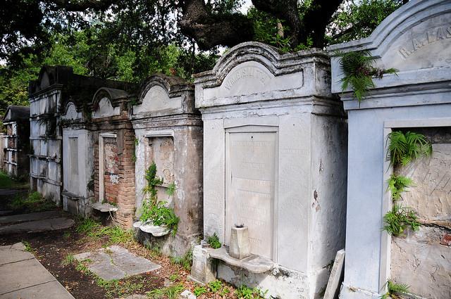 Lafayette Cemetery, Nova Orleans; Michael McCarthy / Flickr