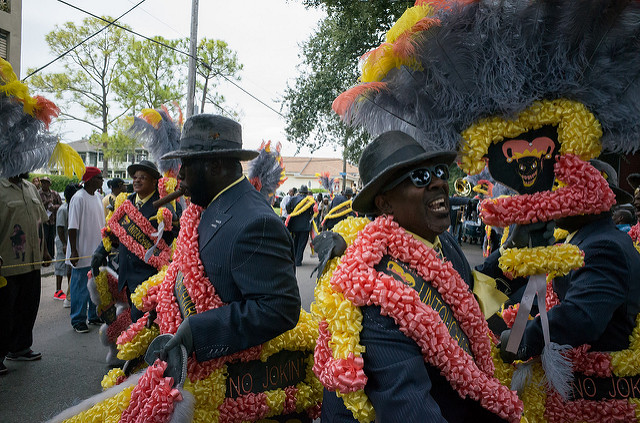 Second Line Parade, New Orleans; VeryBusyPeople/Flickr