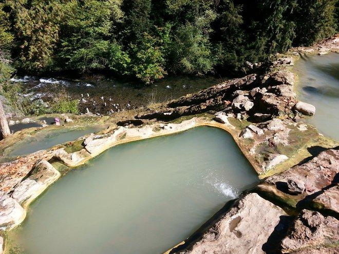 Aguas termales de Umpqua, Oregon; Mitchell Friedman / Flickr