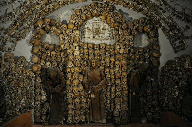 Cripta dos Capuchinhos, Roma; -JvL- / Flickr