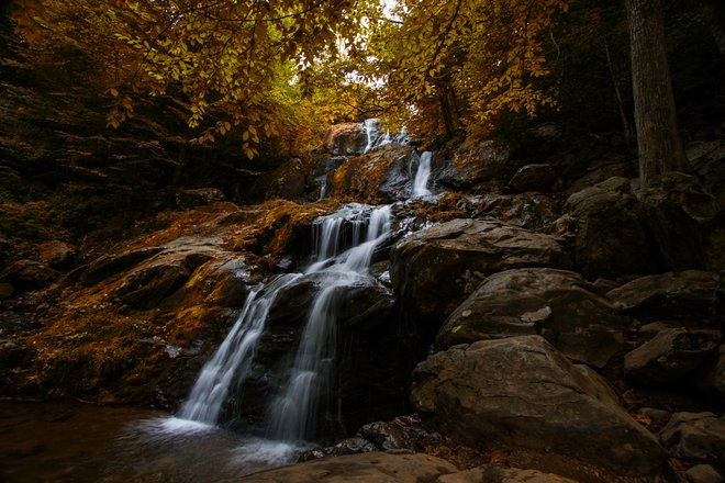 Dark Hollow Falls, Shenandoah National Park in Virginia; Jim Lukach/Flickr