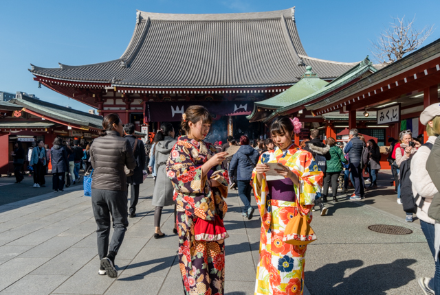 Senso-Ji Temple is one of Tokyo's most important religious sites