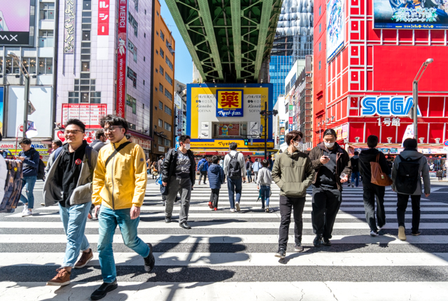 Busy streets and multi-story arcades are Akihabara's claim to fame