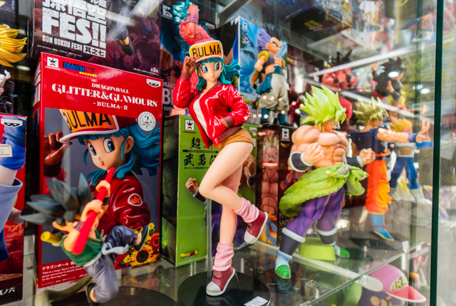 The wares at Nakano Broadway run from quirky to cool
