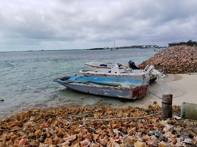 Boote in Bimini / Katherine Alex Beaven