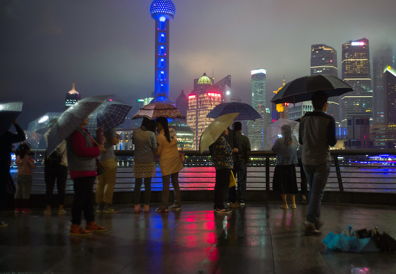 Rainy Night in Shanghai; Alfred Weidinger/Flickr