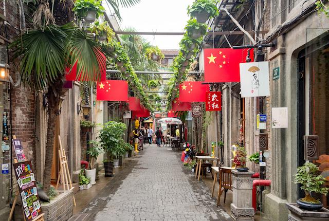 Les rues de Shanghai;  Xiquinho Silva / Flickr