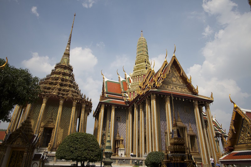 Grand Palace, Bangkok; Rob Taylor / Flickr