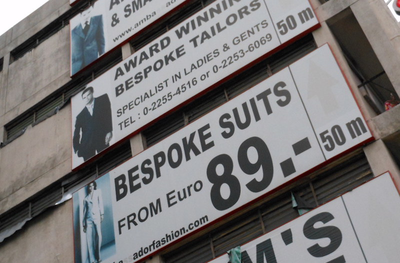 Bespoke Suits For Sale, Bangkok; Michael Coghlan/Flickr