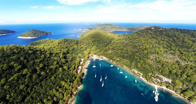 L'île de Lastovo, Croatie; Location de bateaux via Flickr
