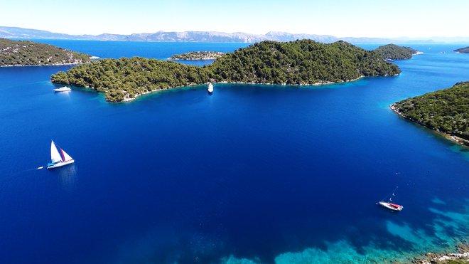 L'île de Mljet; Location de bateaux via Flickr