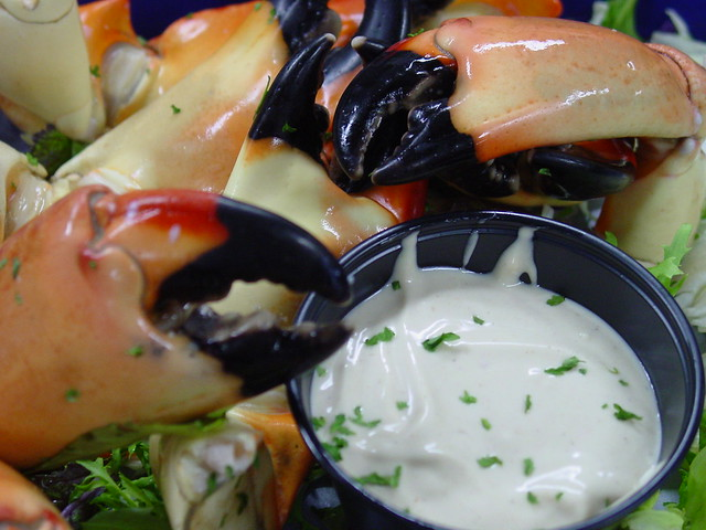 Florida Stone Crab Claws: Larry Hoffman / Flickr