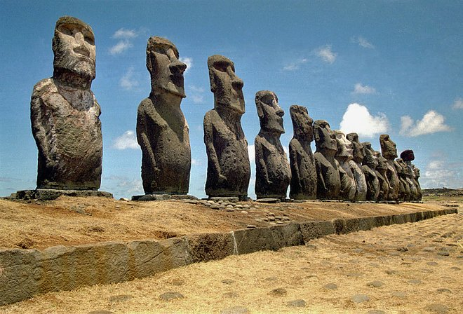 Easter Island; Ik T, Flickr