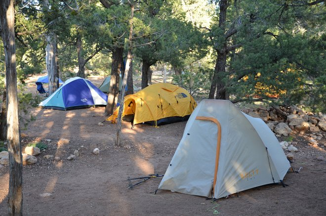Grand Canyon Mather Campground; Parque Nacional do Grand Canyon / Flickr