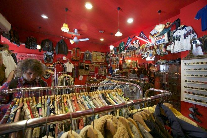 Loja Vintage em Monti, Roma