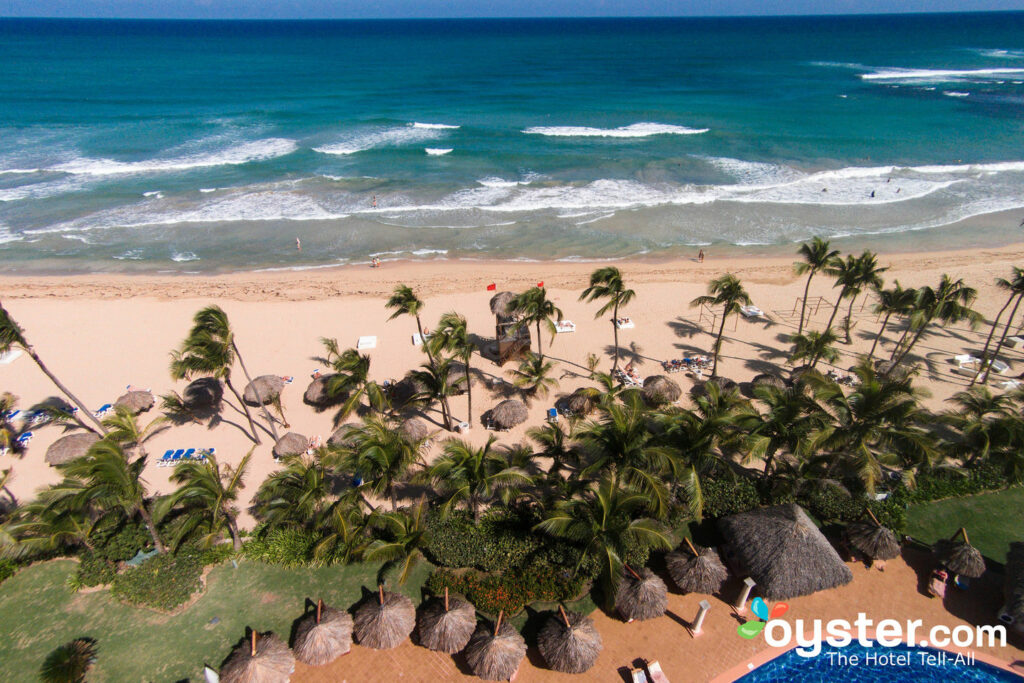 Aerial View of Excellence Punta Cana