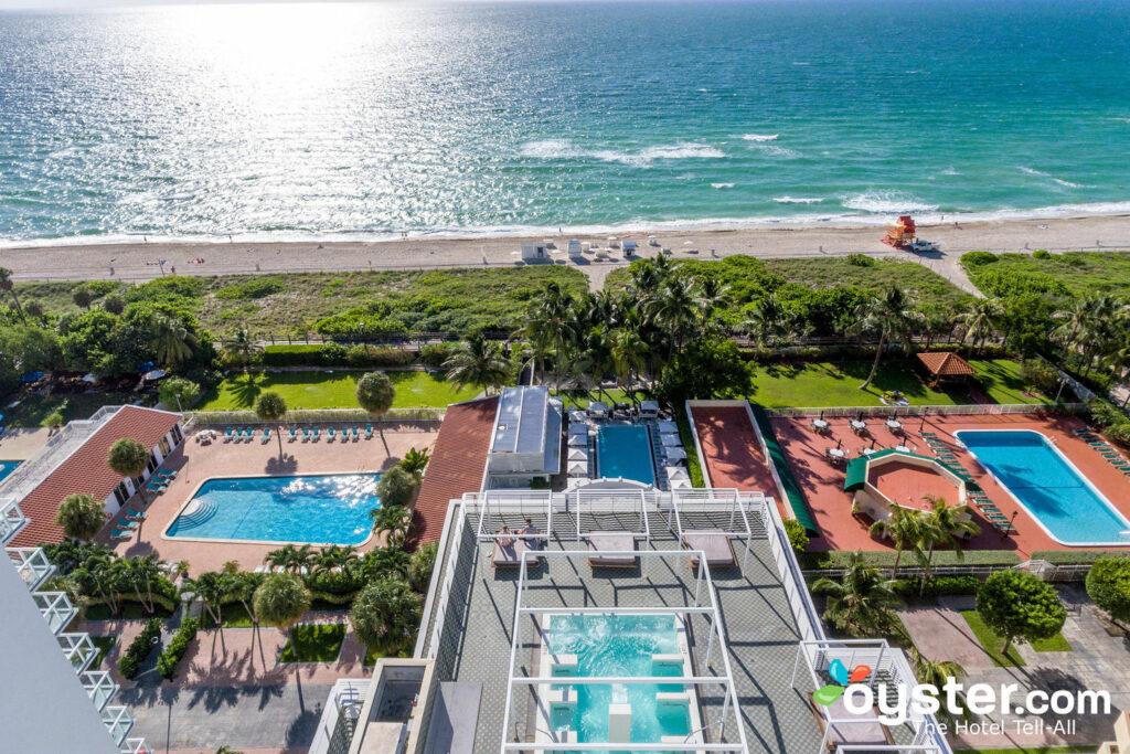 Aerial View of COMO Metropolitan Miami Beach