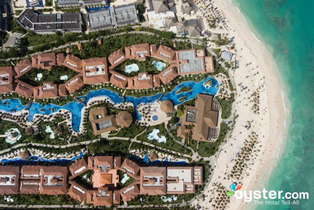 Majestic Colonial Punta Cana All Inclusive Resort Aerial View