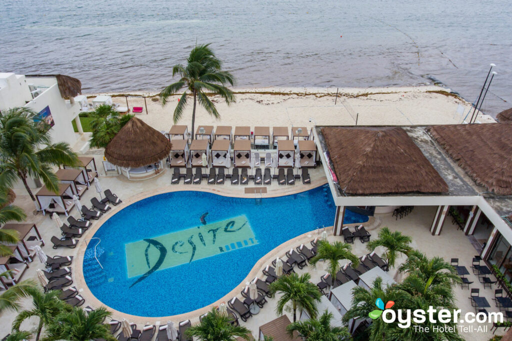 Aerial View of Desire Riviera Maya Resort