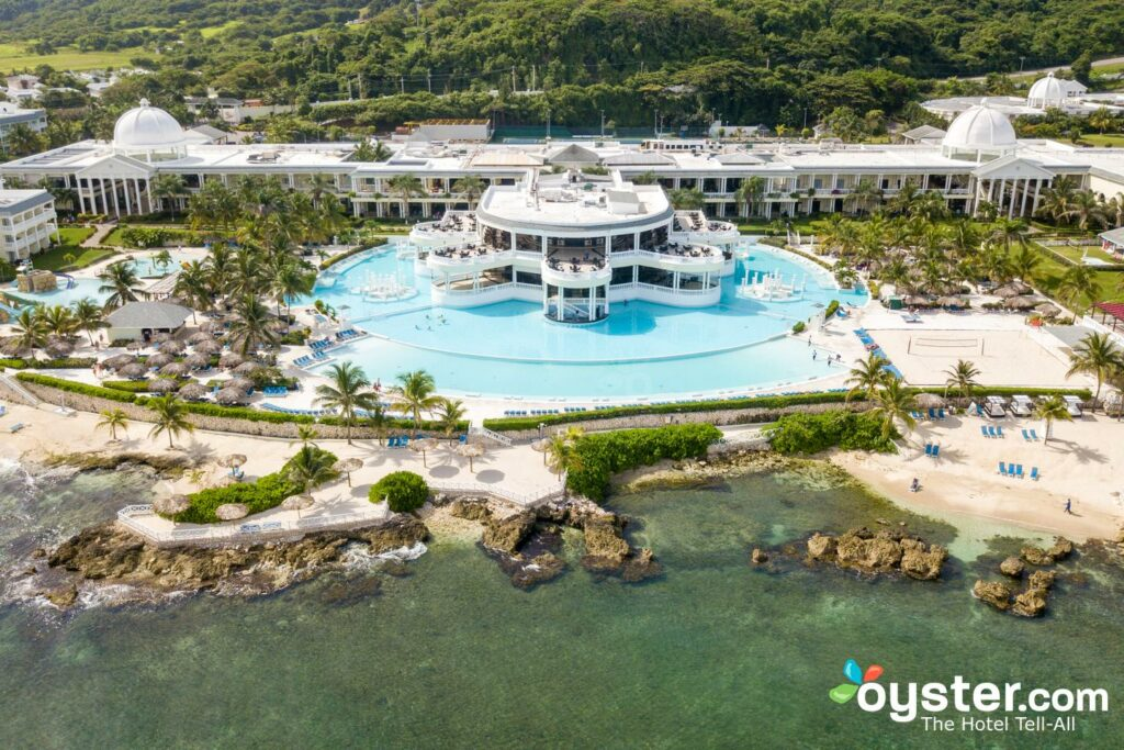 Aerial View of Grand Palladium Lady Hamilton Resort & Spa
