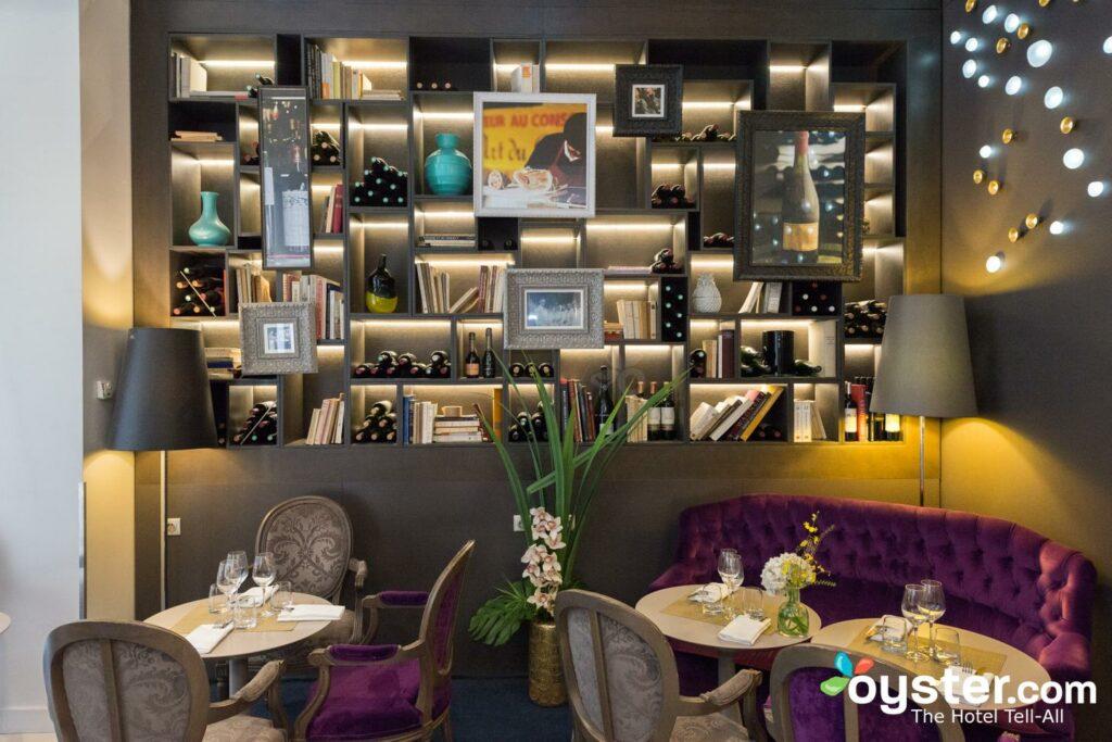 Bar de l'hôtel Indigo Paris - Opéra