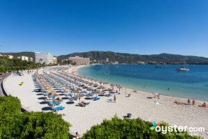 Beach at Hotel Comodoro, Majorca/Oyster