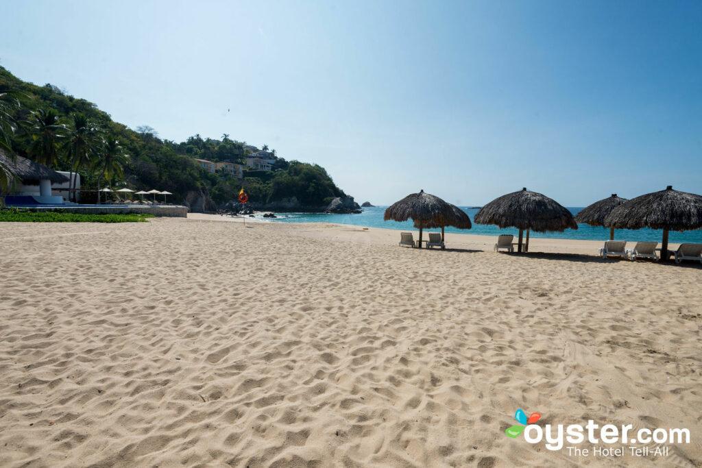 Strand bei Camino Real Zaashila