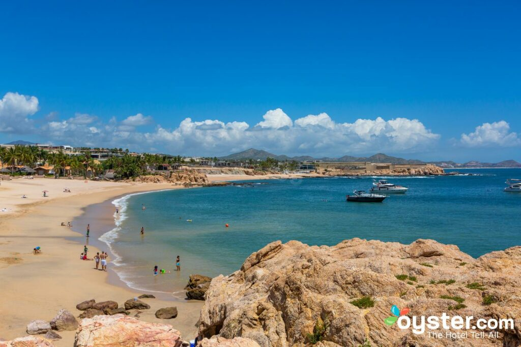 It's safe to swim at Playa el Chileno, which is next to Chileno Bay Resort/Oyster