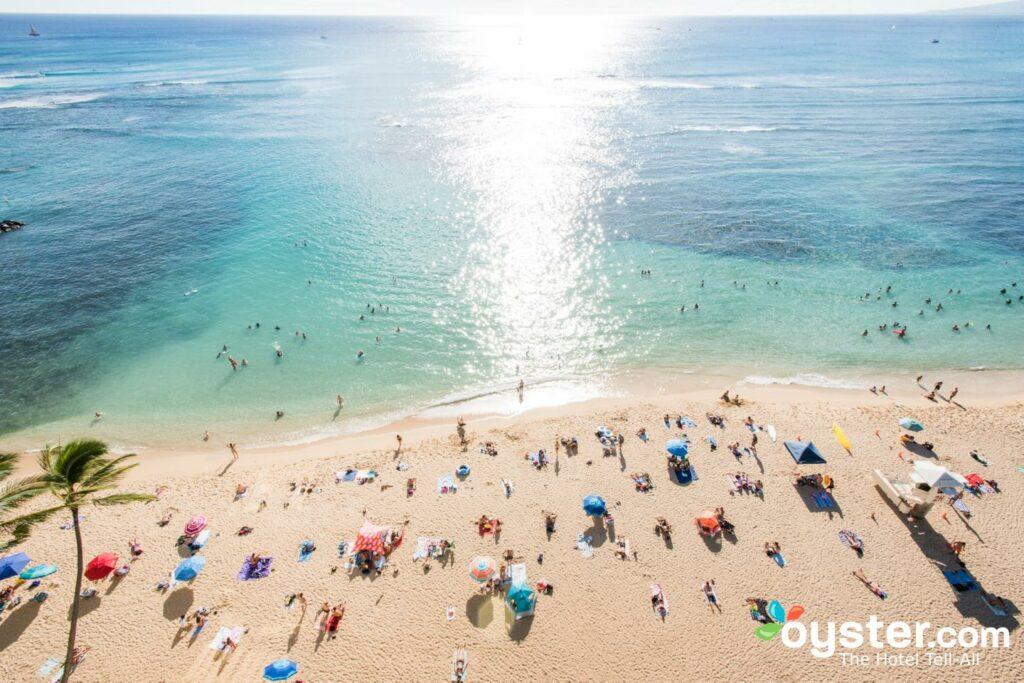 Playa Waikiki, Hawaii