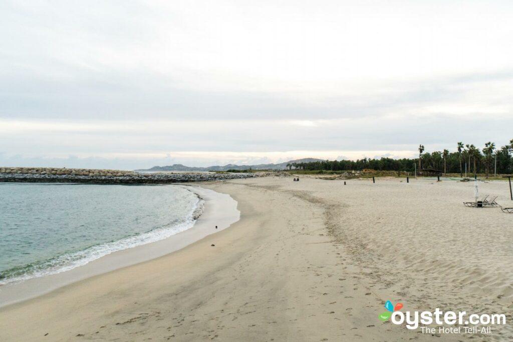 Beach at Hotel El Ganzo in San Jose del Cabo
