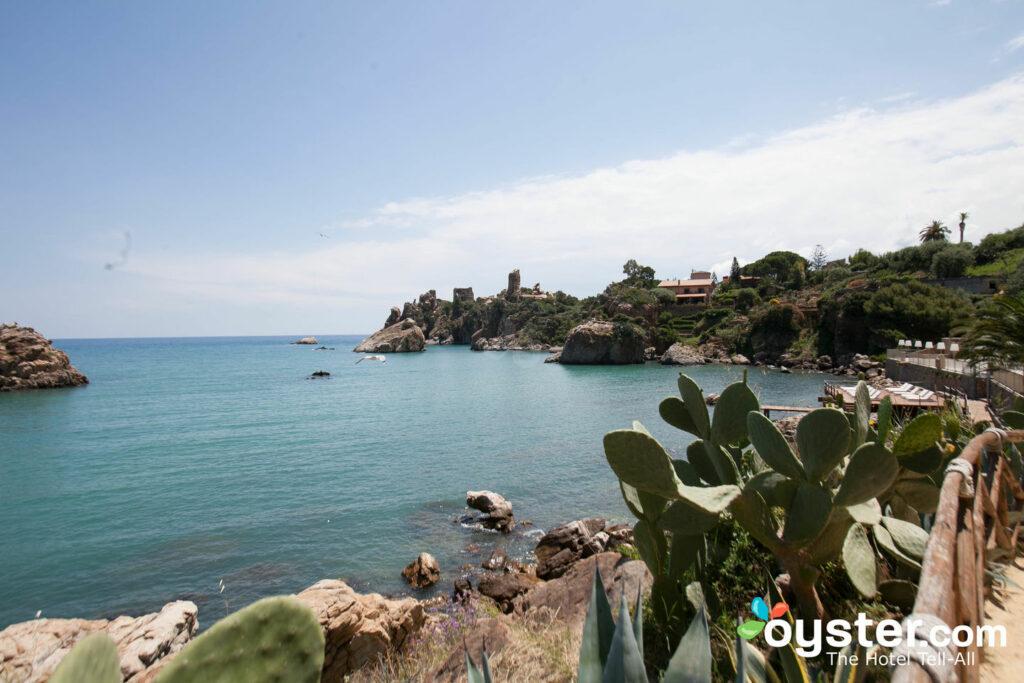Playa en el Hotel Le Calette, Sicilia