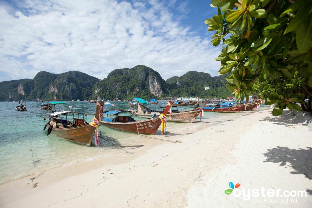 Beach at Phi Phi Banyan Villa