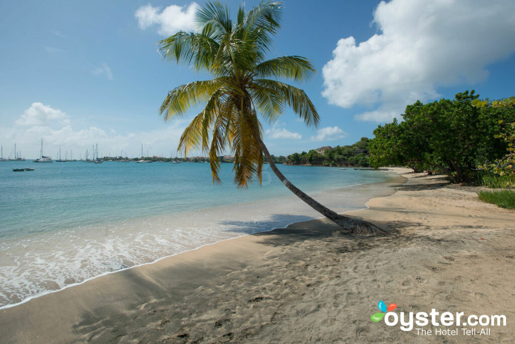 Beach at Lance Aux Epines Cottages in St. George's, Grenada