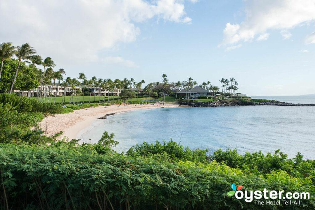 Plage de la baie de montage Kapalua, Maui
