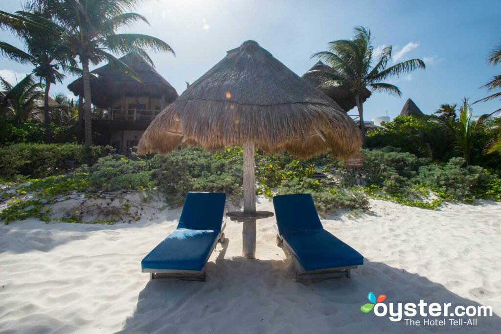 Beach at Encantada Tulum/Oyster