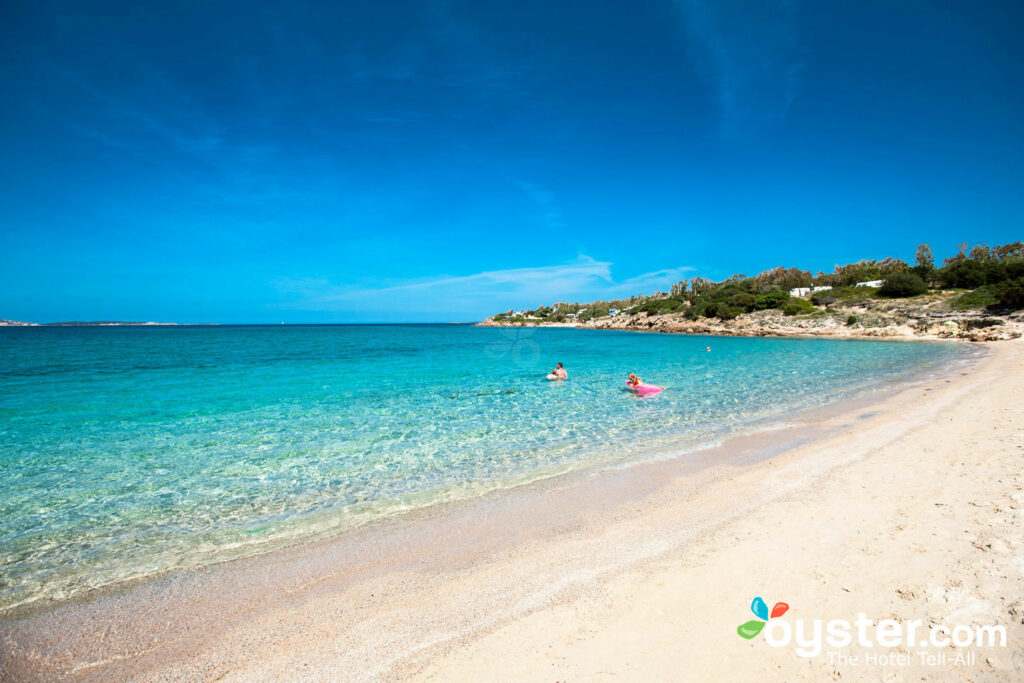 Beach at Centro Vacanze Isuledda in Sardinia