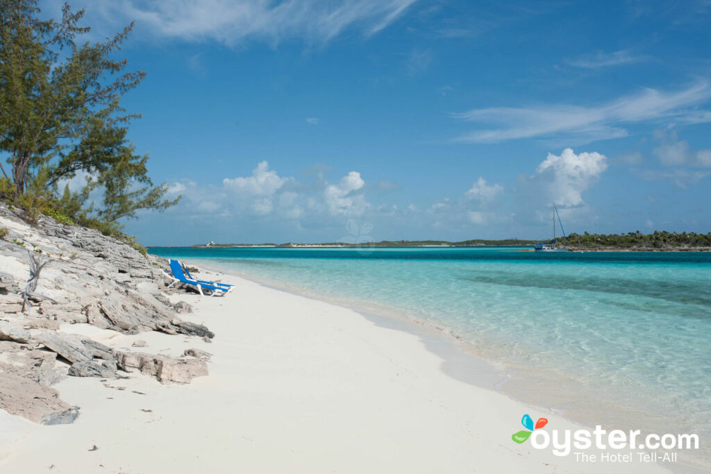 Beach at Fowl Cay Resort