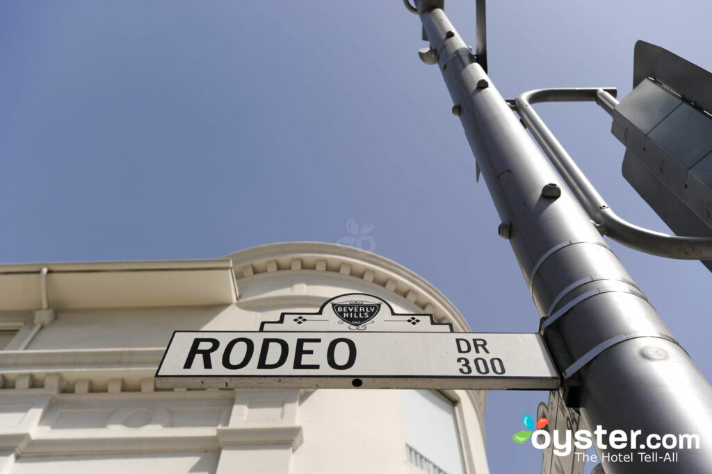 Rodeo Drive, em Beverly Hills