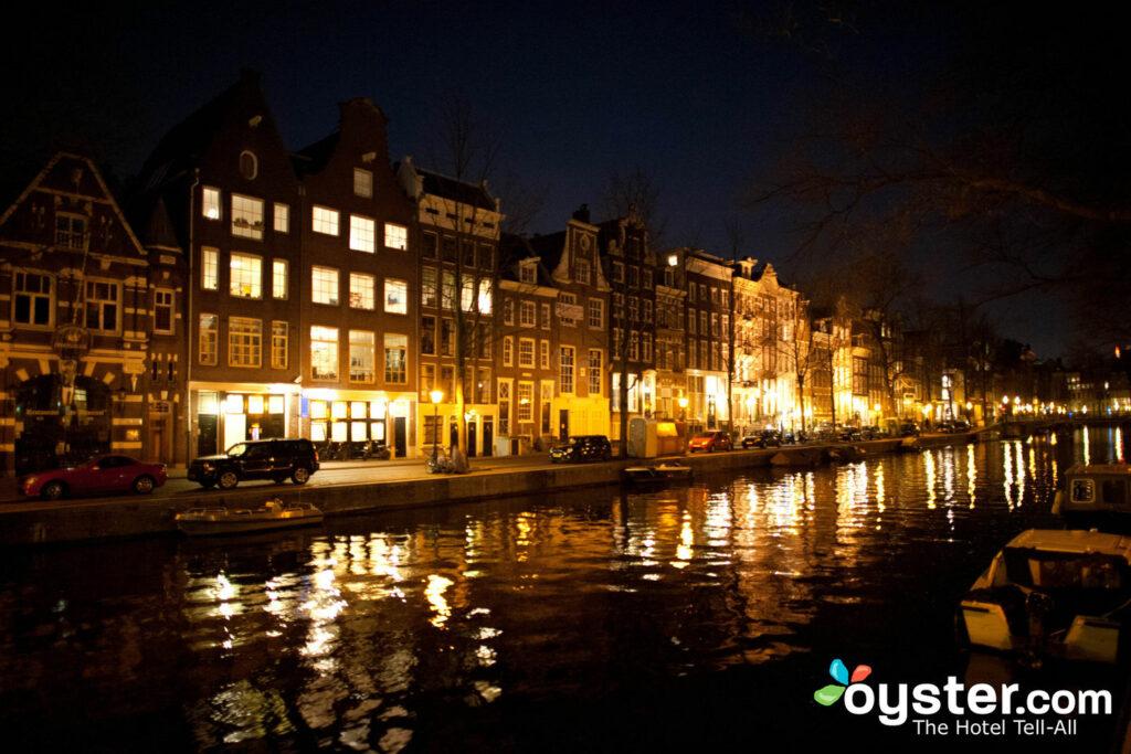 Anneau de canal à Amsterdam