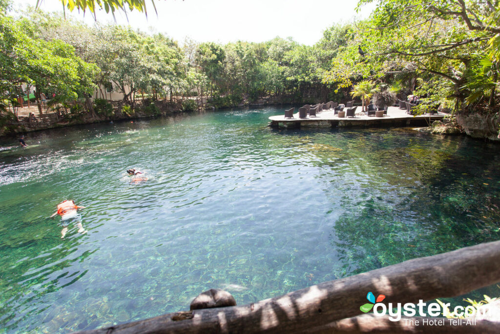 Cenote at Sandos Caracol Eco Resort & Spa, Playa del Carmen